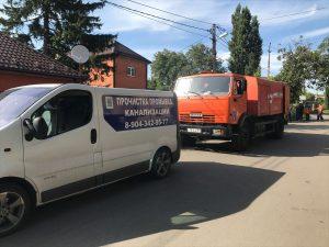 Прочистка канализации в Ростове